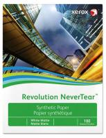 Полиэстровая белая пленка Xerox Revolution NeverTear Satin (сатин) SRA3 (110 мкм, 320x450 мм) [арт. 450L60018]